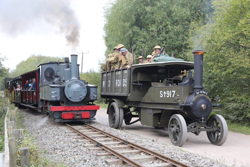 WW1 Action at Tracks to the Trenches 2014