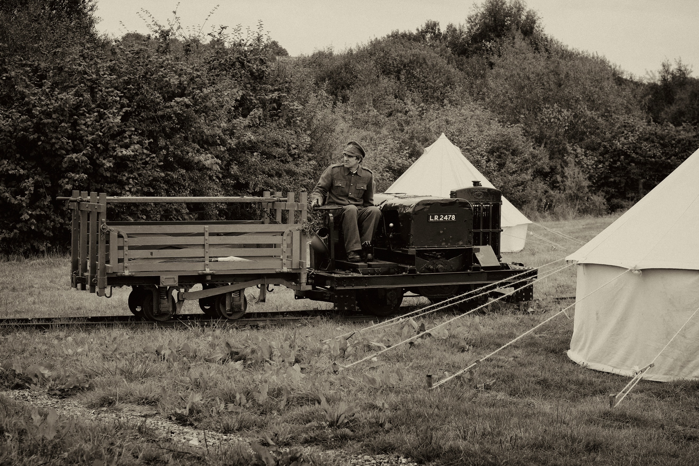 Tracks (& Simplex) To Trenches at Apedale