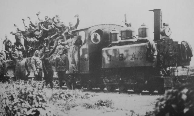 USA Troop train