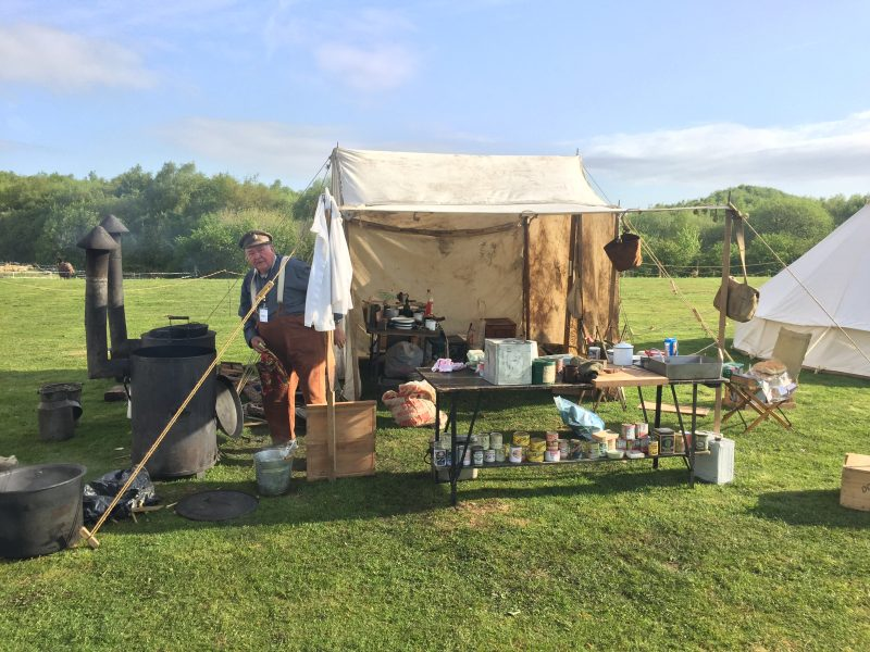 29th Field kitchen in action