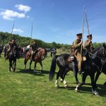 First World War Cavalry display