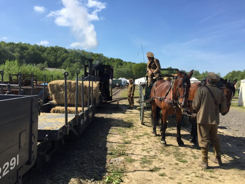 OK - a train, but with Horses!