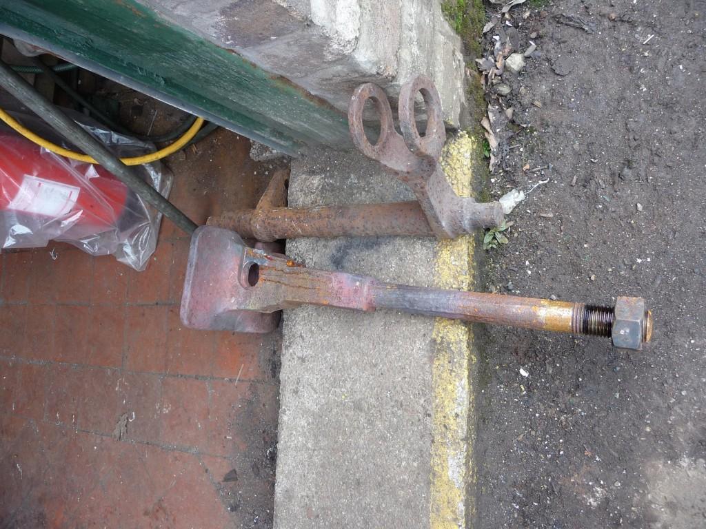 WDLR Bogie parts - Coupler & brake crank